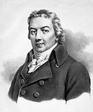 Edward Jenner (1749-1823), British physician and naturalist. Jenner is famed for developing a vaccine for the often fatal viral infection, smallpox. H...