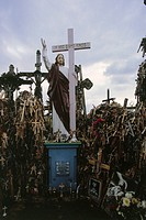 Lithuania, Siauliai, mountain of the crosses