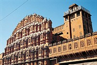 ´Hawa Mahal´ (Palace of the Winds). Jaipur. Rajasthan, India