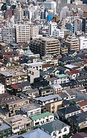 Ebisu. Aerial. Tokyo. Japan.