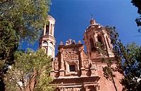 La Guadalupe Church. Zacatecas. Mexico