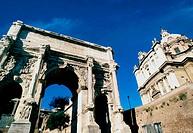 Ancient Roman ruins. Rome. Italy.