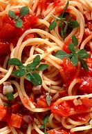 Spaghetti all´ Amatriciana
