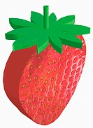 Illustration, fruit, strawberry (thumbnail)