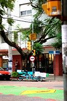 Transport, street, corner