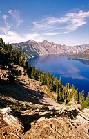 Crater Lake, Crater Lake National Park. Oregon, USA