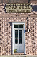 The San José, first town hotel. Tombstone, America´s gunfight capital. Arizona, USA