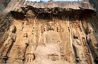 Ancestor, Asia, Buddhist, Caves, China, Henan, Heritage, Holiday, Landmark, Longmen, Luoyang, Province, Tang dynasty, Temple, To