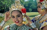 Asia, Costume, Dancing, Girls, Holiday, Landmark, Model, Released, Sukhothai, Thailand, Tourism, Traditional, Travel, Vacation,