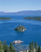America, Boat, California, Emerald bay, Holiday, Lake tahoe, Landmark, Tahoe, Tour, Tourism, Travel, United states, USA, Vacatio