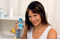 THIRSTY WOMAN<BR>Model.