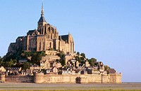 Benedictine abbey. Mont-Saint-Michel. Normandy, France
