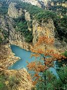 Congost de Montrebey. Montsec mountain range. Lleida. Catalunya. Spain