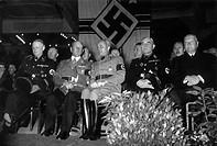 Epp, Franz Ritter von, 16.10.1868 - 31.12.1946,  deut. General & Politiker (NSDAP), Reichsstatthalter von Bayern 10.4.1933 - 8.5.1945, bei Veranstaltu...