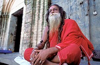An Indian Holy man, Varanasi, India
