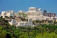Acropolis. Athens. Attica, Greece