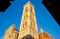 Duomo (Cathedral) and Campanile Tower. Florence. Italy