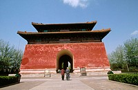 Stele Pavilion. Sacred Way. Beijing. China