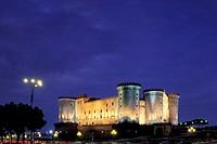 europe, italy, campania, naples, castel nuovo