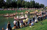 riviera fiorita historical regatta, stra dolo mira, italy