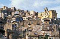 town view, ragusa, italy
