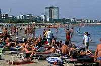 beach, milano marittima, italy