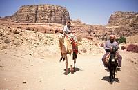 bedouin people, petra, jordan