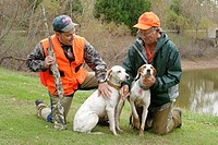 Doublehead Resort, professionally guided quail hunting. English Pointer dogs. Lawrence County. Alabama. USA.