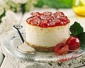 Cherry cake.