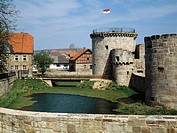 Germany, Hesse, Friedewald, Water Castle