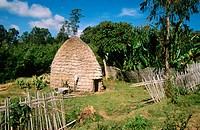 Dorze village. Ethiopia.