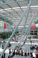 Düsseldorf airport. Germany