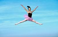 ballerina in the sky