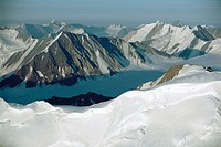 St. Elias Mountains. Kluane National Park. Yukon. Canada