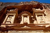 The Khasneh (´Treasury´). Petra. Jordan
