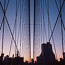 Brooklyn Bridge, New York City, New York, USA (thumbnail)