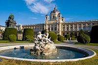 Austria. Vienna. Museum of Fine Arts, Kunsthistorisch museum