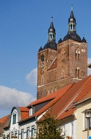 St. Petri Church, Seehausen, Altmark. Saxony-Anhalt, Germany