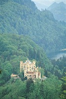 Bavarian Alps, Hohenschwangau Castle, Germany