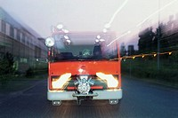 Fire truck. Germany, Berlin