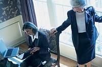 Women in office setting