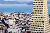 Overview. San Francisco. California. USA.