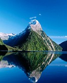 Milford Sound fiord, Fiordland National Park. South Island, New Zealand