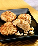 ´Panellets´ typical All Saints´ Day pastry in Catalonia (Spain)