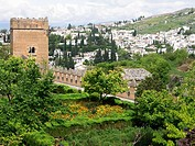 Alhambra. City of Granada. Andalucia. Spain