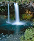 Koosah Falls, McKenzie River. Willamette National Forest. Linn County. Oregon. USA