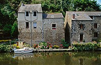 River Rance, Dinan. Brittany, France