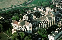 Vezelay basilica. Burgundy. France