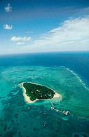Green island. Great Bareer Reef. Queensland. Australia.