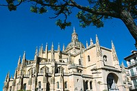 Cathedral. Segovia. Spain